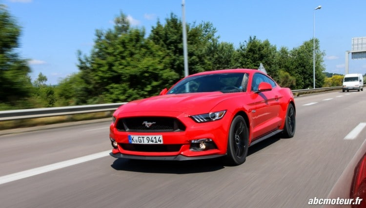 essai Ford Mustang Fastback GT
