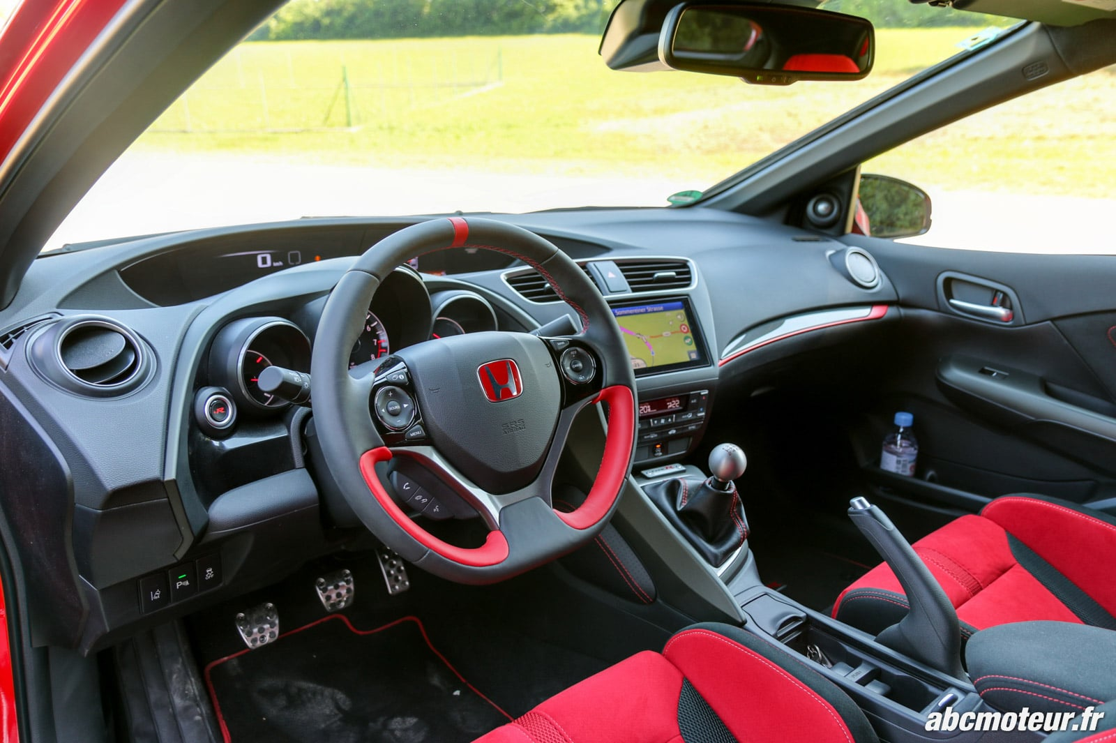 l 39 honda civic type r 2015 l 39 essai sur route et sur circuit. Black Bedroom Furniture Sets. Home Design Ideas
