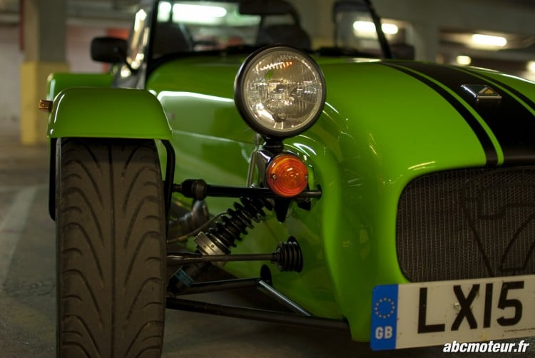 optique avant Caterham 275R