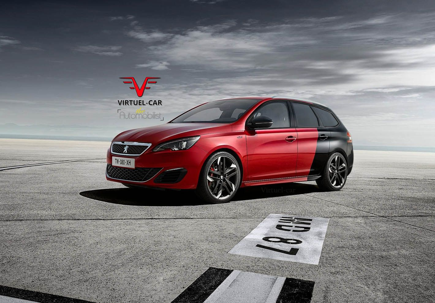 la peugeot 308 gti d clin e en break d s 2015. Black Bedroom Furniture Sets. Home Design Ideas