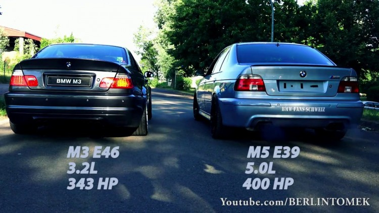 bmw m3 e46 vs m5 e39 laquelle sonne le mieux. Black Bedroom Furniture Sets. Home Design Ideas