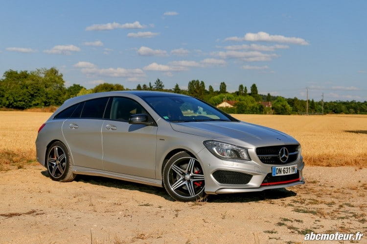 Mercedes CLA 250 Shooting Brake 4Matic Version Sport 3-4 profil