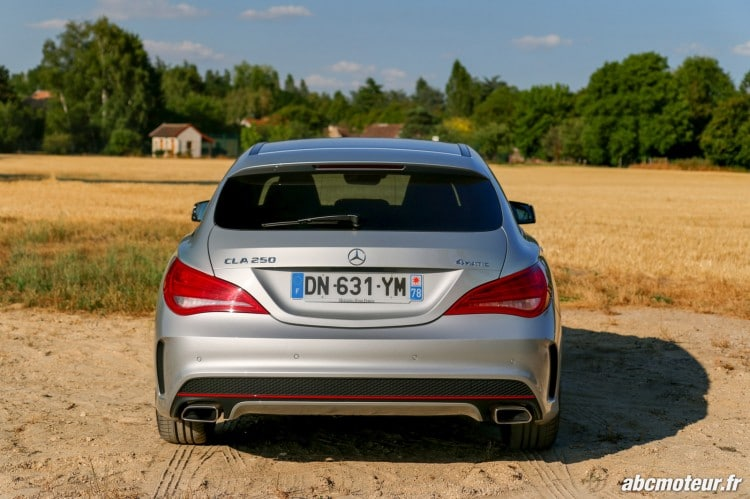 Mercedes CLA 250 Shooting Brake 4Matic Version Sport arriere
