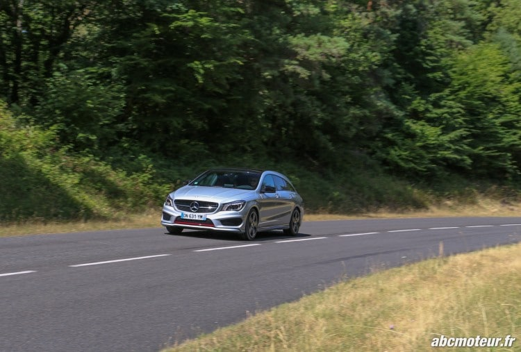 Mercedes CLA 250 Shooting Brake 4Matic Version Sport dynamique-2