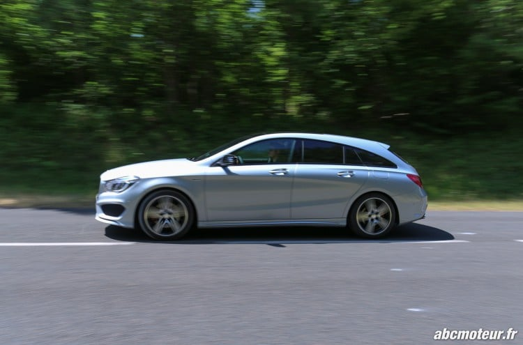 Mercedes CLA 250 Shooting Brake 4Matic Version Sport dynamique-3