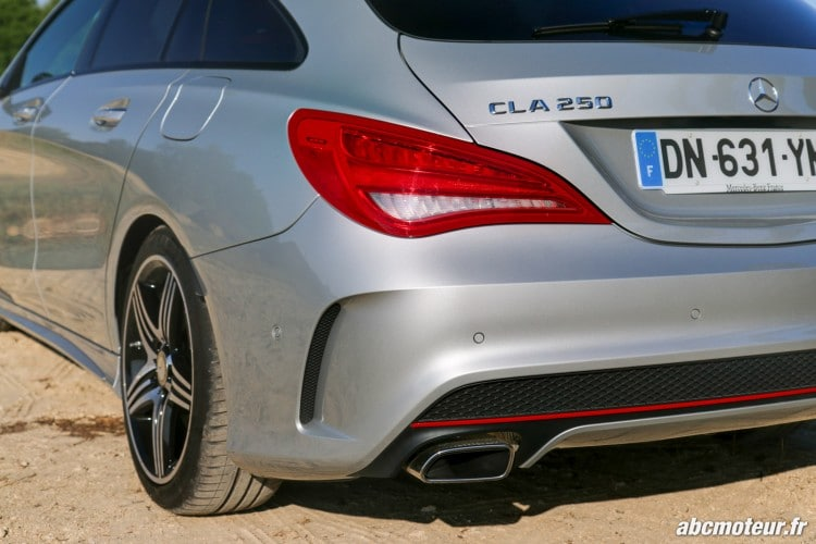 Mercedes CLA 250 Shooting Brake 4Matic Version Sport optique arriere