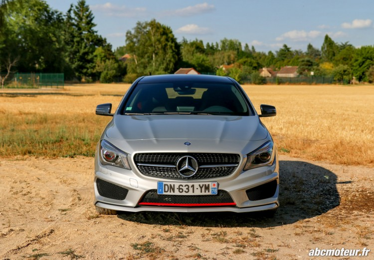 avant Mercedes CLA 250 Shooting Brake 4Matic Version Sport