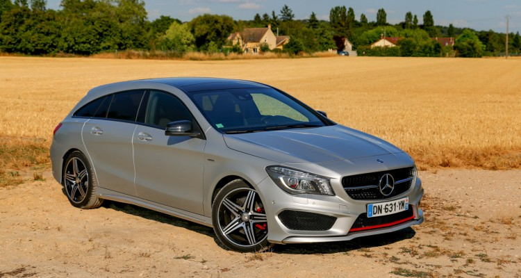essai Mercedes CLA 250 Shooting Brake 4Matic Version Sport