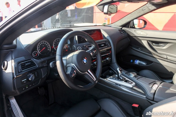 interieur M6 Gran Coupe F06 BMW M day LFG