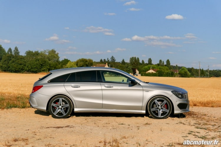 profil Mercedes CLA 250 Shooting Brake 4Matic Version Sport