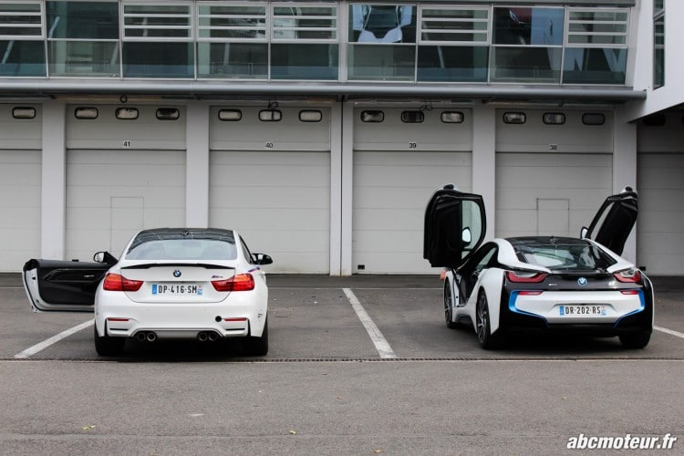 BMW M4 Safety Car i8 Magny Cours M Festival