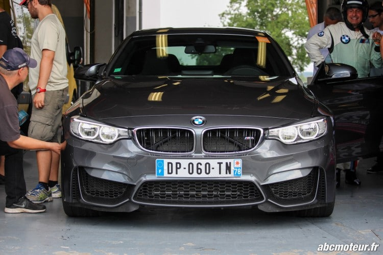 BMW M4 box Magny Cours M Festival