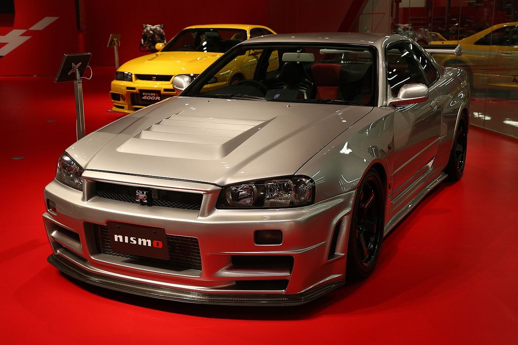 retour sur la nissan skyline gt r r34 alias godzilla. Black Bedroom Furniture Sets. Home Design Ideas