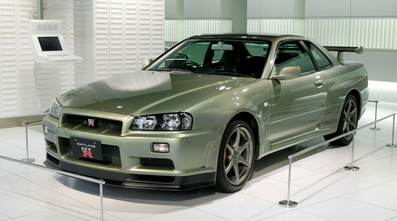 Big in Japan // Partie 1 : Nissan Skyline GT-R (R34)
