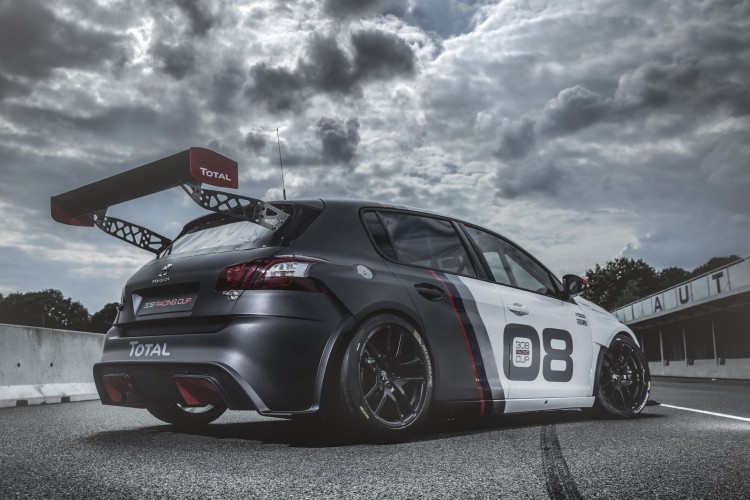 Peugeot 308 Racing Cup 3-4 arriere