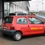 Renault Twingo medical car Magny Cours M Festival