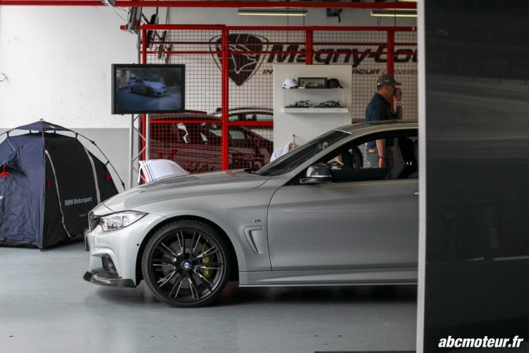 aile avant BMW 435i M Performance Magny Cours M Festival