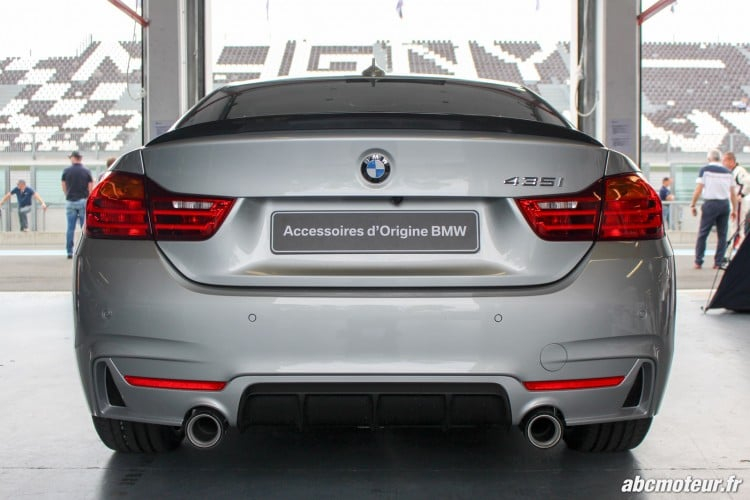 arriere BMW 435i M Performance Magny Cours M Festival