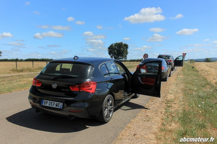 arriere BMW M135i xDrive M Festival