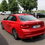 arriere BMW M235i Magny Cours M Festival