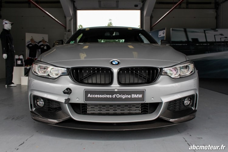 avant BMW 435i M Performance Magny Cours M Festival