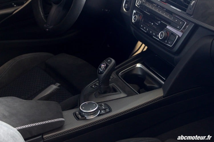 insert carbone brut BMW 435i M Performance Magny Cours M Festival