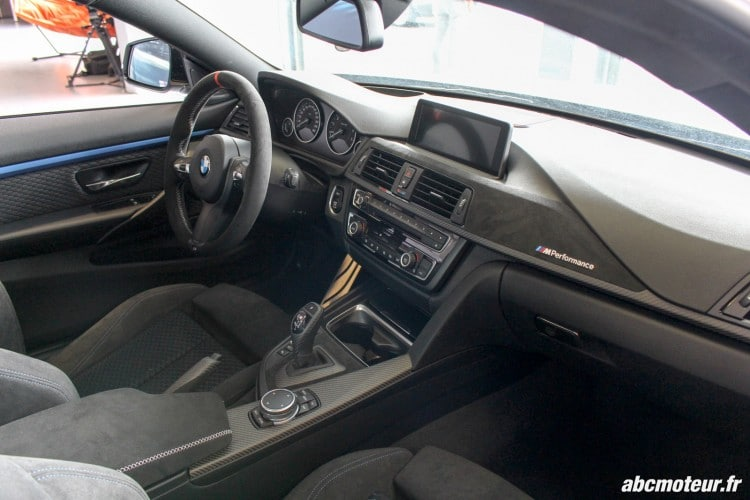 interieur BMW 435i M Performance Magny Cours M Festival