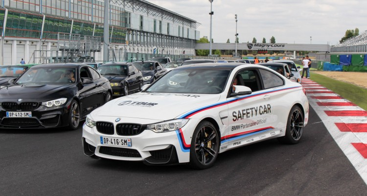 parade BMW M4 Safety Car Magny Cours M Festival