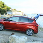 Ford C-Max II restyle profil coffre ouvert