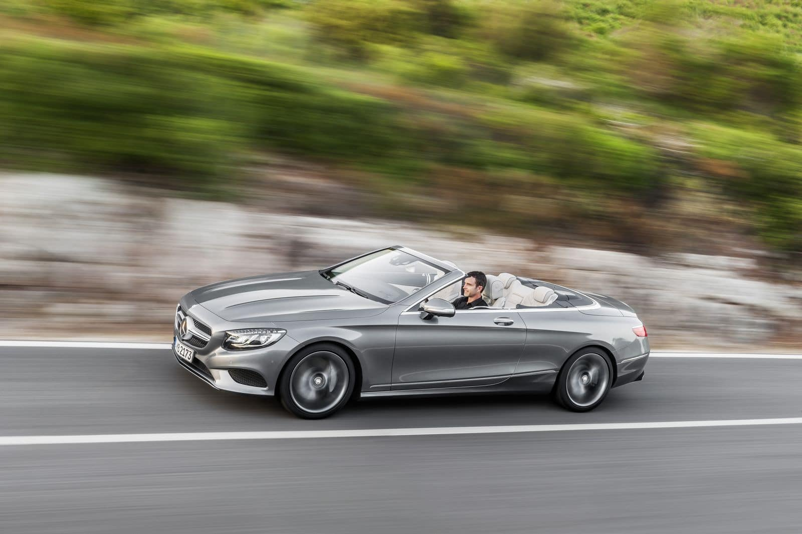 Mercedes Classe S Cabriolet : yacht roulant