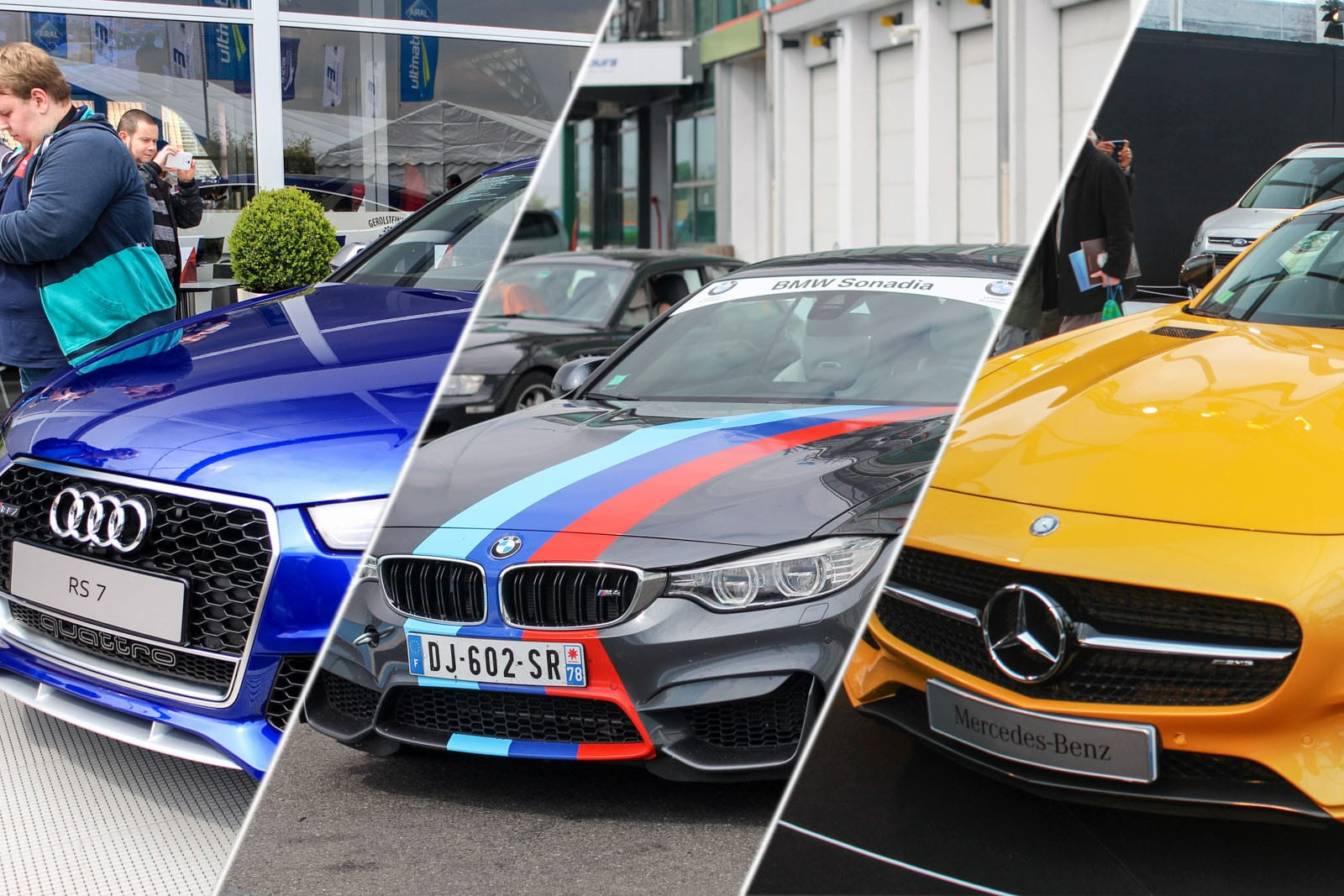 Gammes S, RS, M Performance, AMG Sport, … comment s'y retrouver ?
