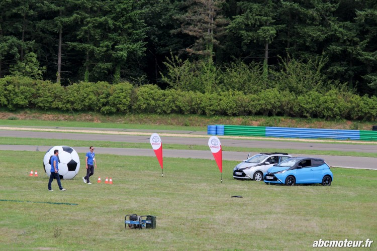 Aygo football Toyota Innove circuits Ouest Parisien