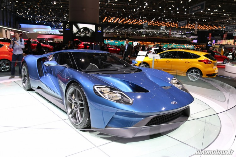 Ford GT salon Geneve 2015