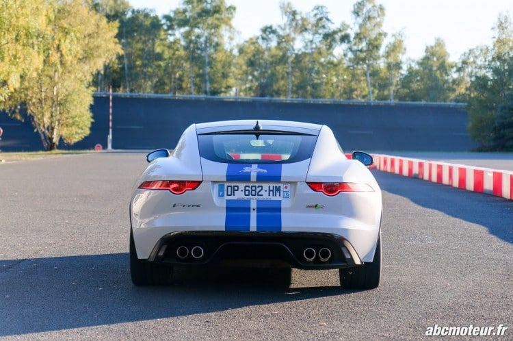 Jaguar F-Type R Coupe AWD arriere