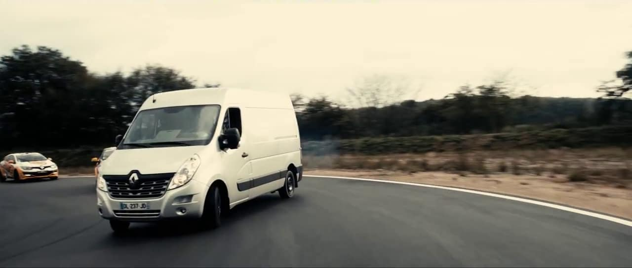 du drift en renault master. Black Bedroom Furniture Sets. Home Design Ideas