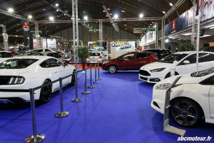 stand Ford salon auto Orleans 2015