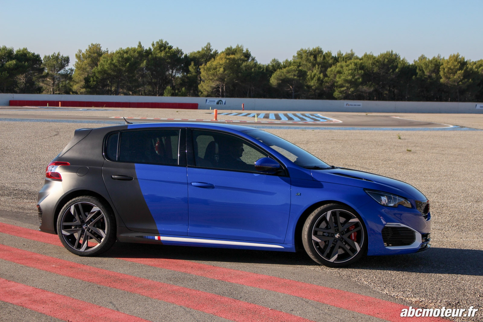 la peugeot 308 r hybrid fait le show sur le circuit du castellet. Black Bedroom Furniture Sets. Home Design Ideas