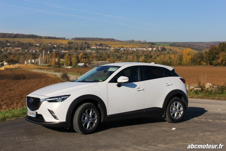 Mazda CX-3 Artic White-14