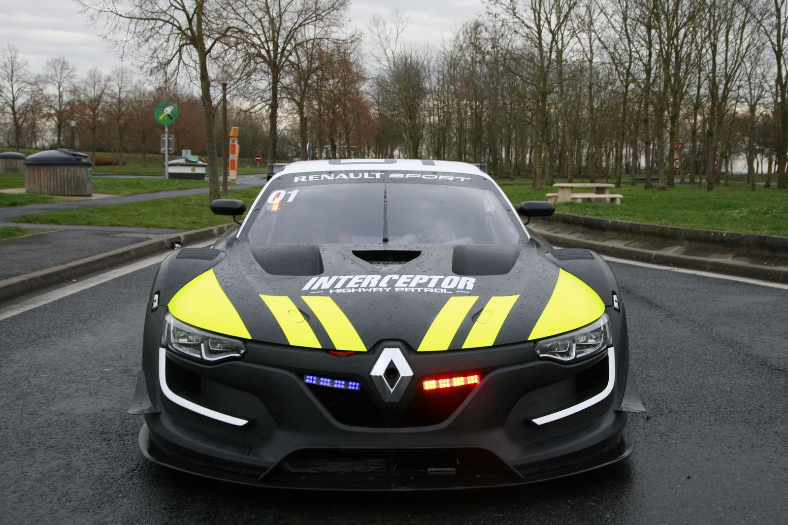 La Renault R S 01 En Mode Interceptor