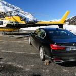 BMW Serie 7 G12 helicoptere