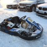 BMW Val Isere Ice Driving karting glace