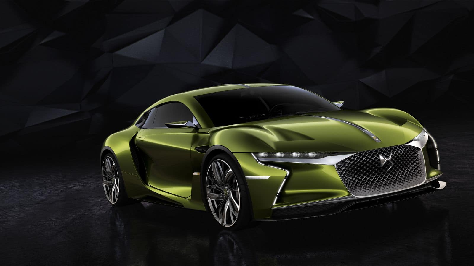 DS E-Tense : électrisante surprise