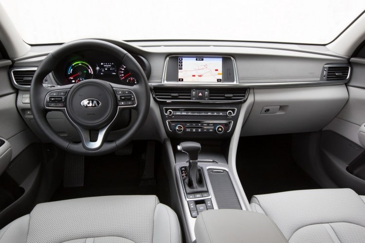 Kia Optima IV Hybride interieur