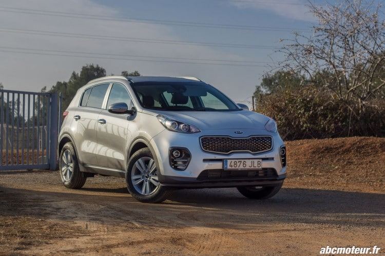 Le Sportage en finition Active