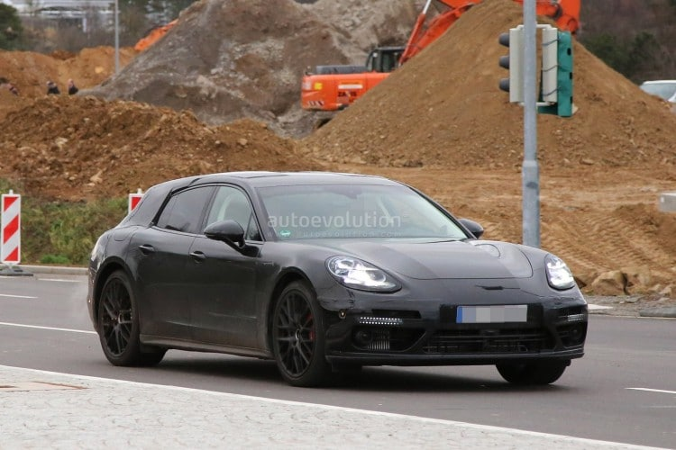 Porsche Panamera break prototype-2