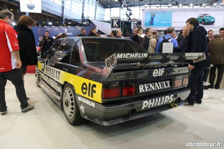 Renault 21 Superproduction 1988 face arriere