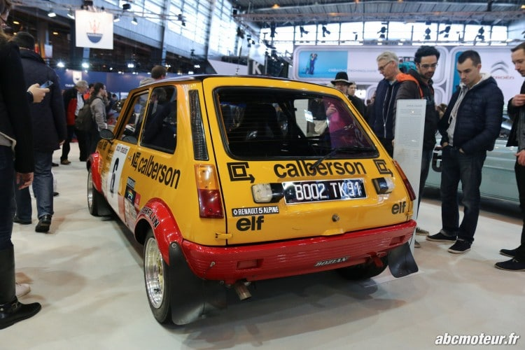 Renault 5 Alpine groupe II arriere