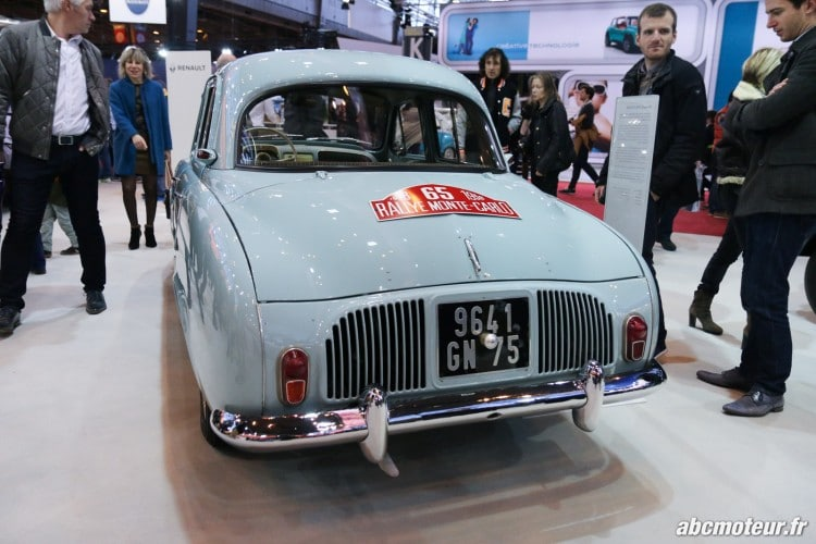 Renault Dauphine arriere