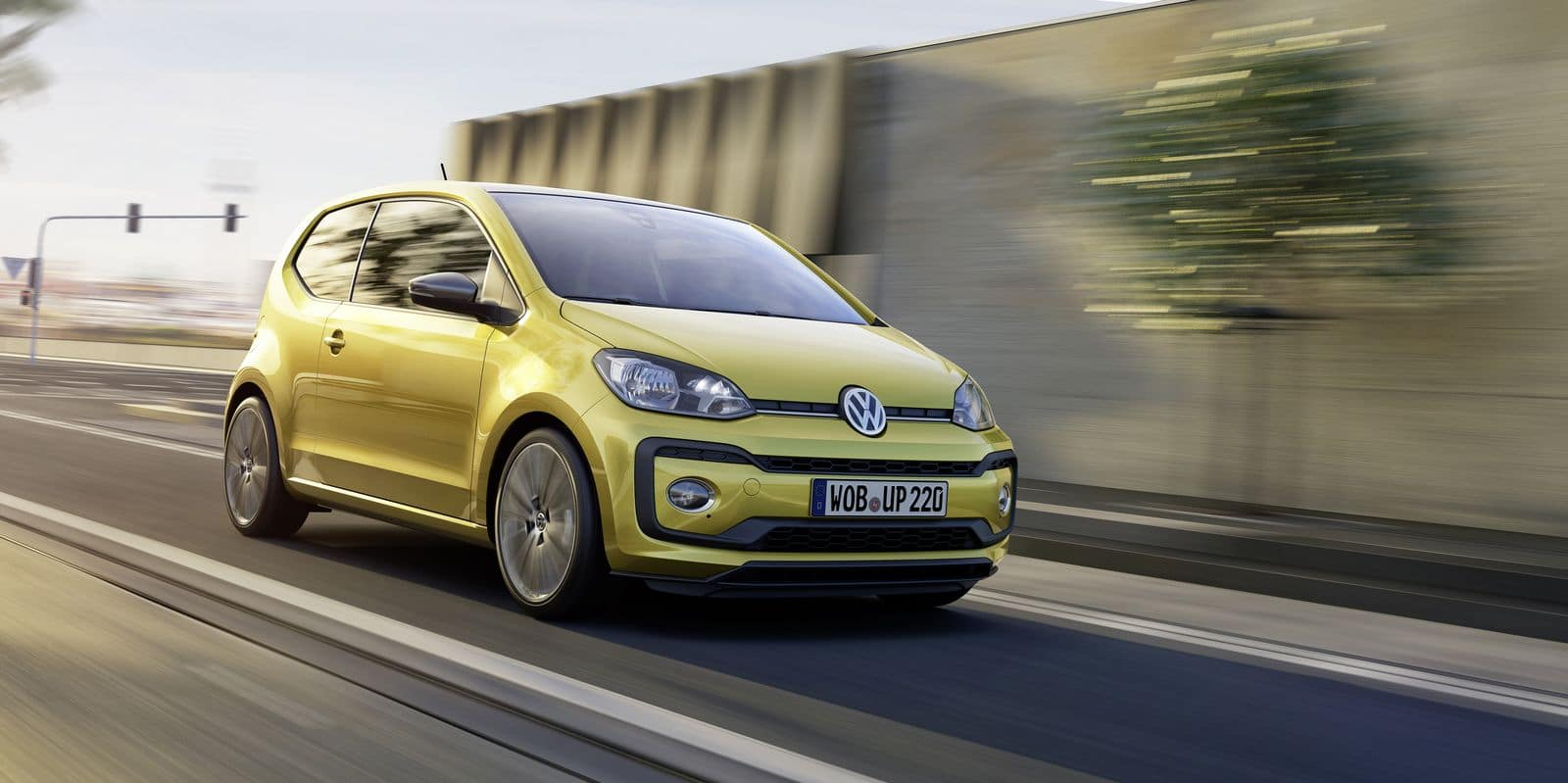 La Volkswagen Up met le turbo