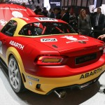Abarth 124 Spider rally arriere Geneve 2016